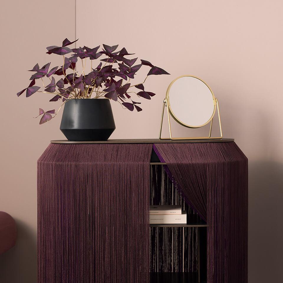 Ibride Baby Alpaga – Secret Furniture in Deep Purple