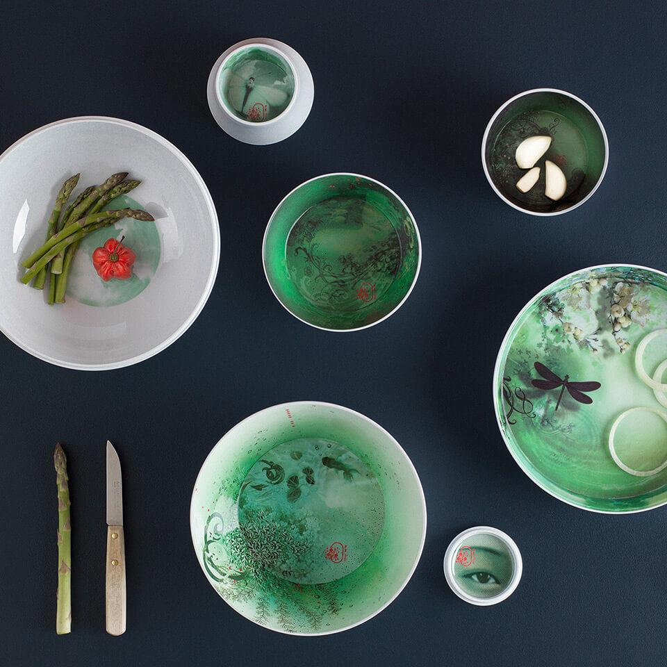 Ibride Ming Acqua – stapelbares Schüssel-Set