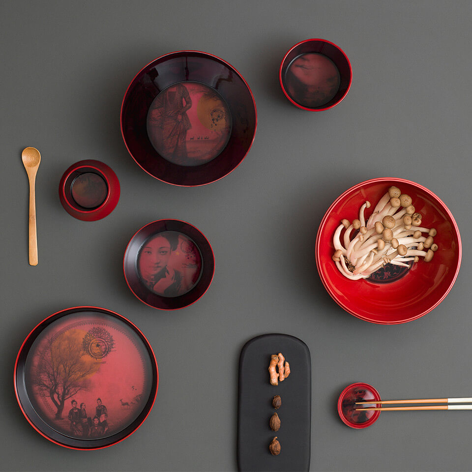 Ming China Red