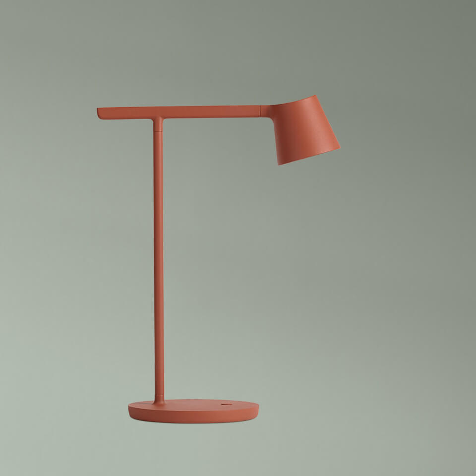 Tip Lamp - Cooper Brown