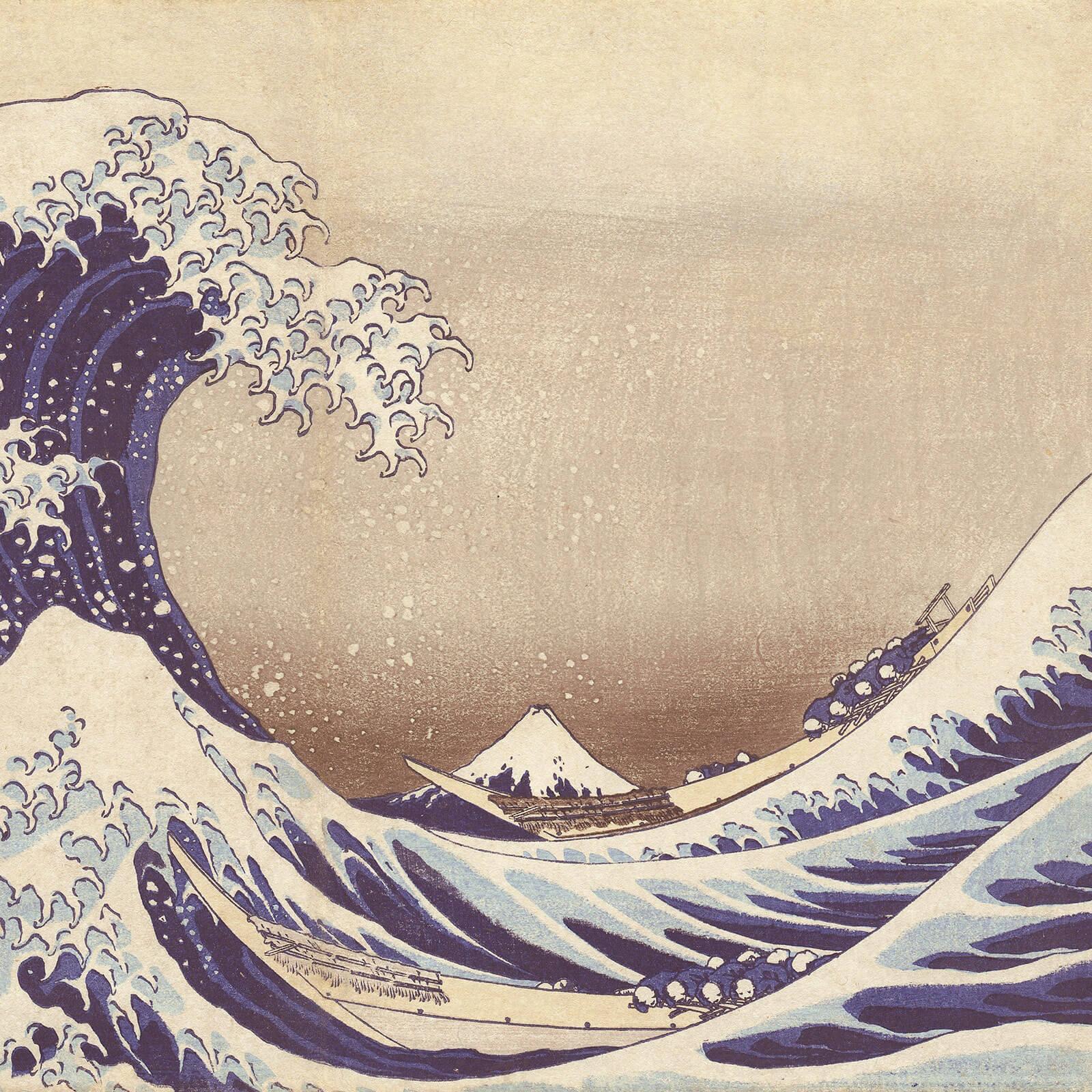 Paper Vase The Wave
