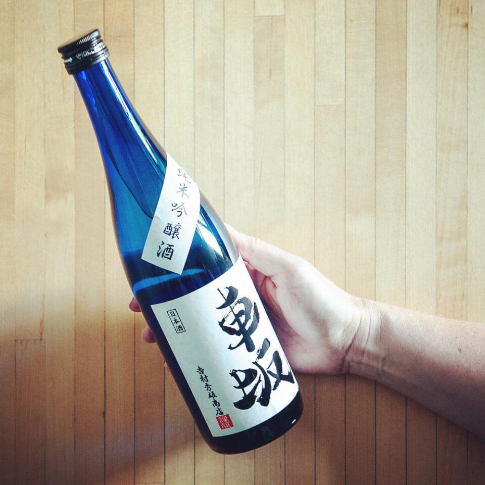 kurumazaka junmai ginjo premium sake
