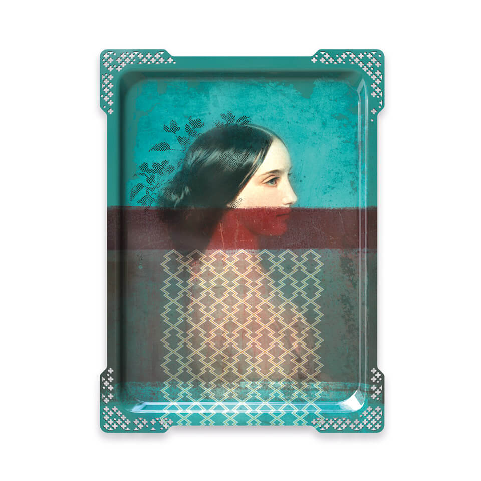 ida ibride tablet tablett wandbild