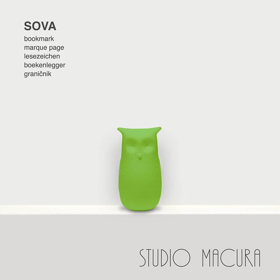 sova studio macura bookmark lesezeichen
