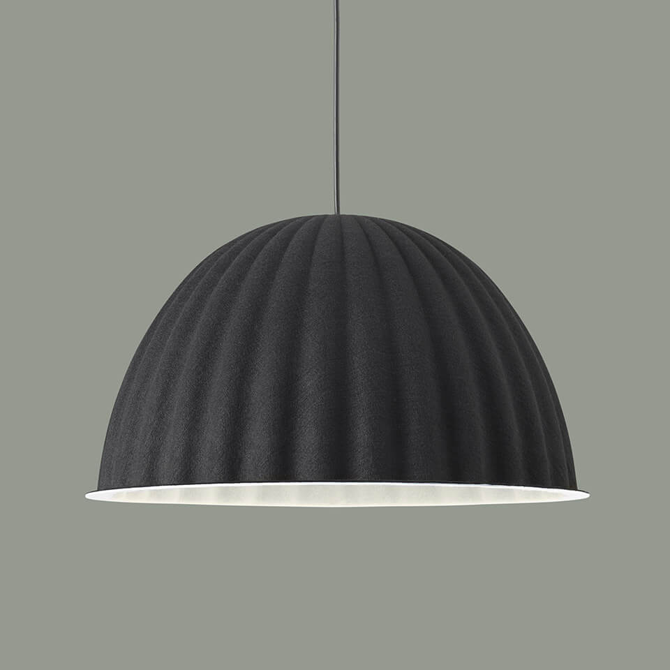 under the bell lamp muuto leuchte