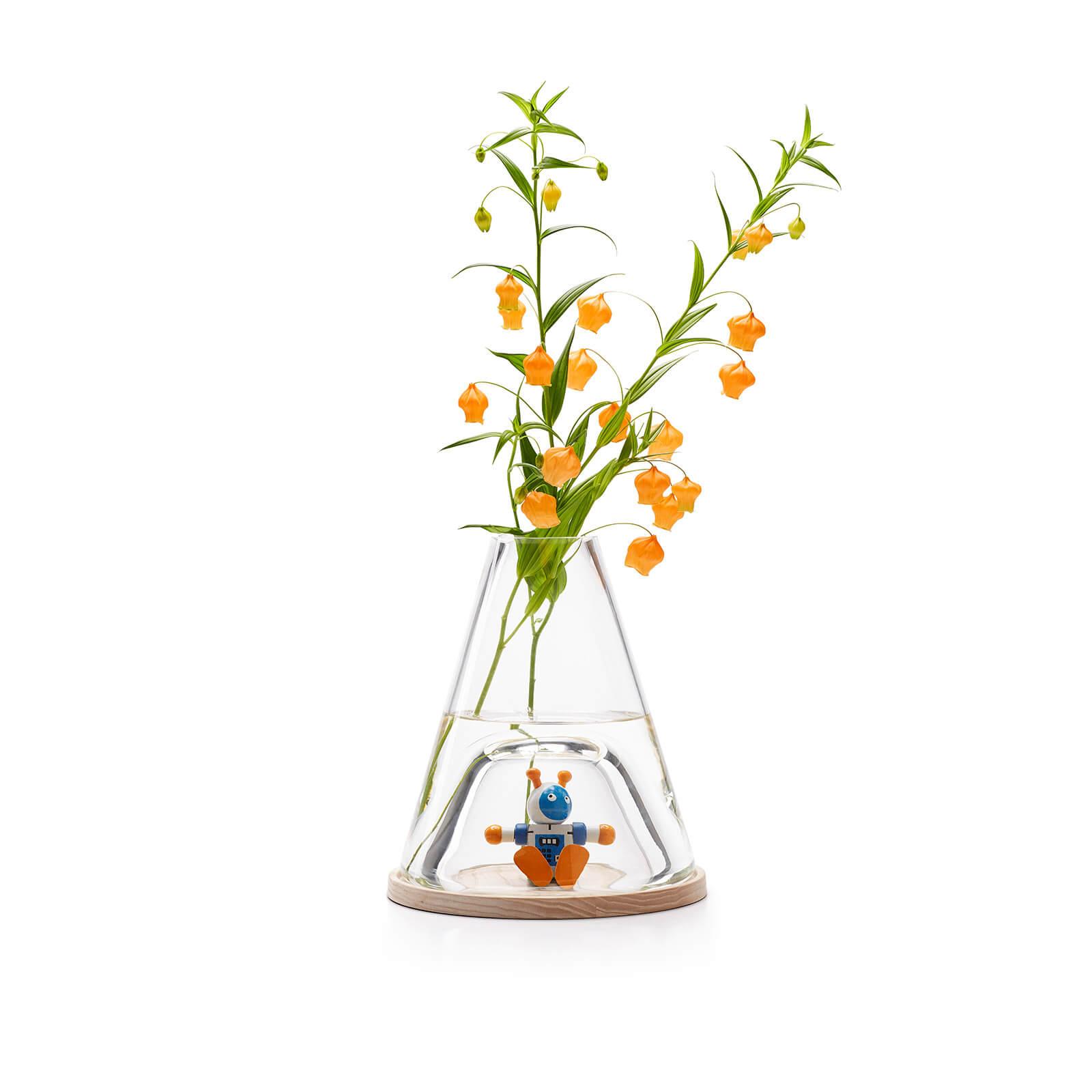 Novecento Bell-Jar Vase