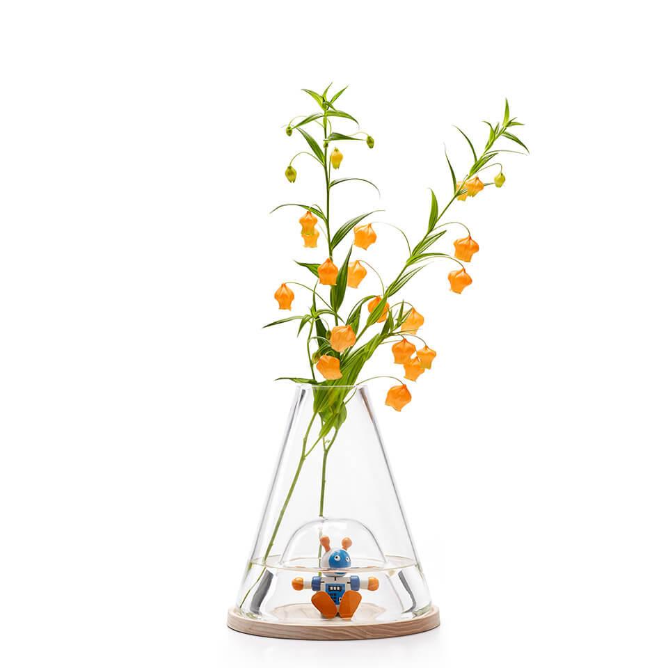 ontwerpduo vase bell jare novecento