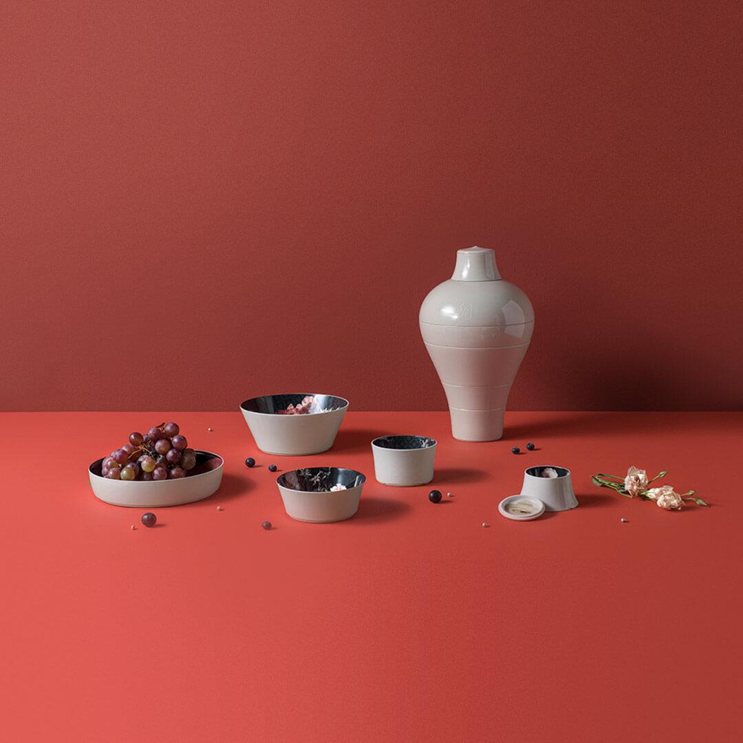 ibride ming muse schalenset vase schalen